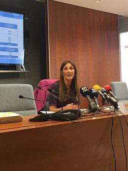 Delegada especial de la AET en Canarias, Carmen Guillén Prieto