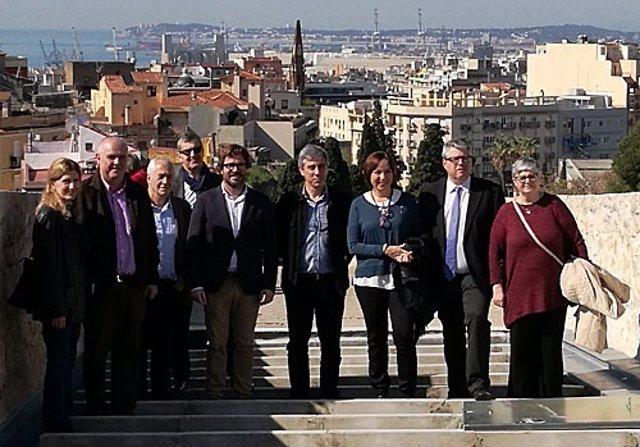 Presentación de la restauración de las obras de la muralla romana