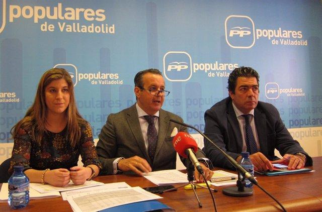 Parlamentarios del Partido Popular por Valladolid