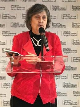La escritora y viuda del escritor José Luis Sampedro, Olga Lucas