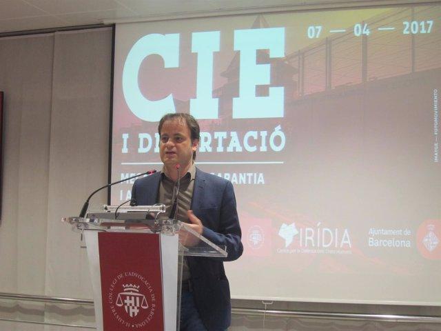 El Teniente De Alcalde De Barcelona Jaume Asens