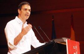 Pedro Sánchez protagoniza un acto abierto este sábado en Santander
