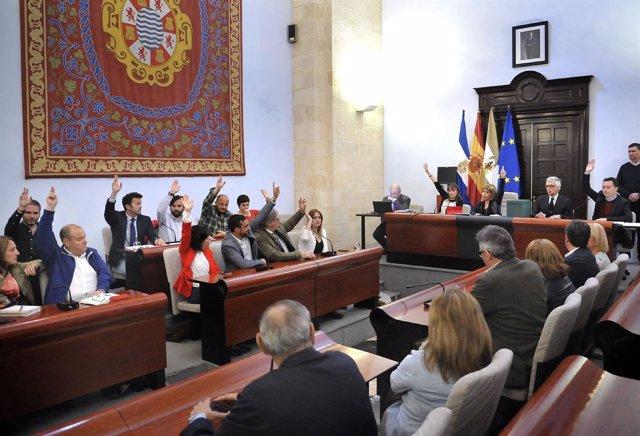 Pleno en el Ayuntamiento de Jerez