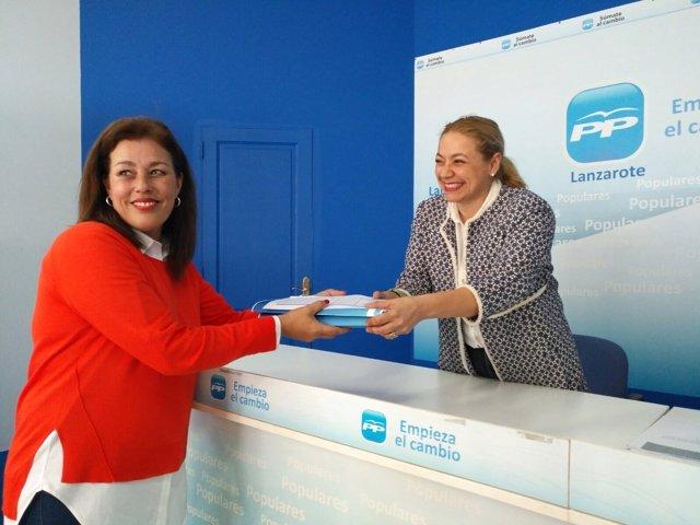 Presidenta del PP de Lanzarote, Astrid Pérez