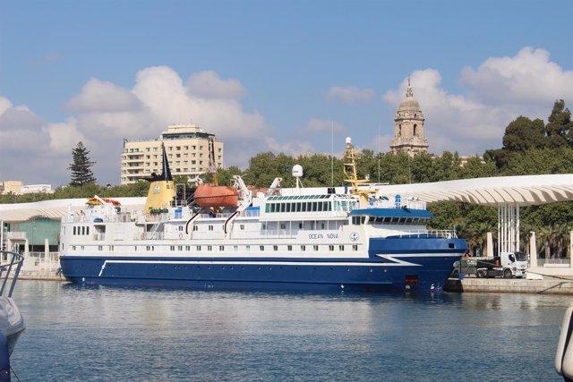 Buque ocean nova casco reforzado surcar aguas heladas exclusivo crucero