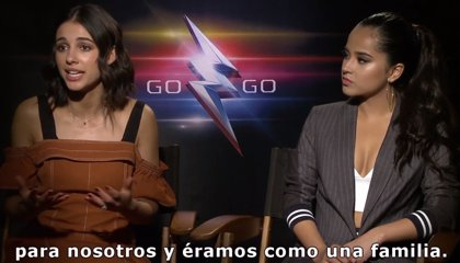 Power Rangers Entrevista Con Becky G Y Naomi Scott
