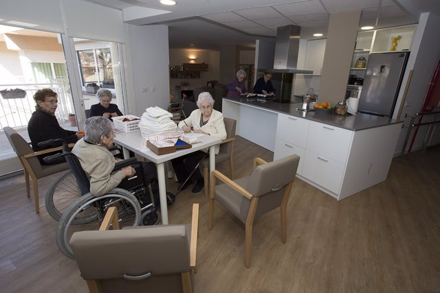 Unidad de convivencia para ancianos en Sant Hilari de Sacalm