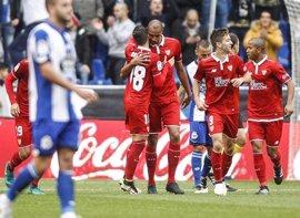 El Deportivo examina la crisis del Sevilla y Espanyol y Alavés apuran Europa