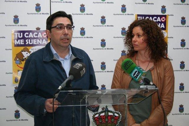 García y Casado en rueda de prensa