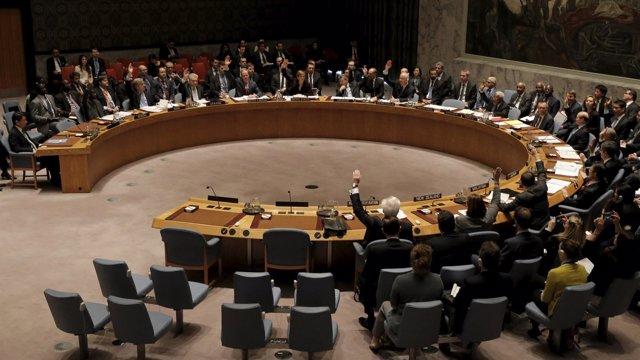 El Consejo de Seguridad de Naciones Unidas durante una sesión