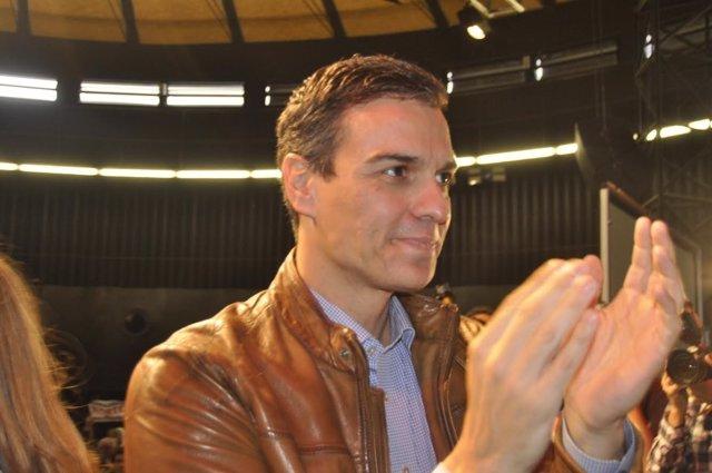 Pedro Sánchez, en el acto de este sábado