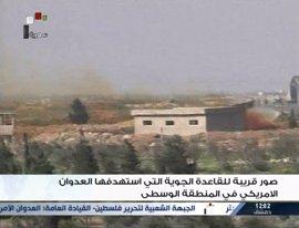 Aviones del régimen sirio despegan desde la base atacada por Estados Unidos
