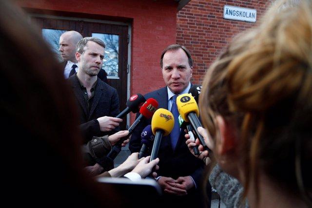 El primer ministro de Suecia, Stefan Lofven