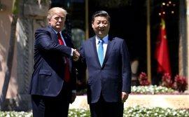 """Trump y Xi escenifican la """"amistad"""" entre China y EEUU pese a los roces bilaterales"""