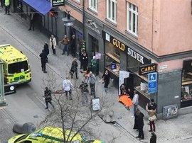 Seis de los 15 heridos en el atentado de Estocolmo abandonan el hospital