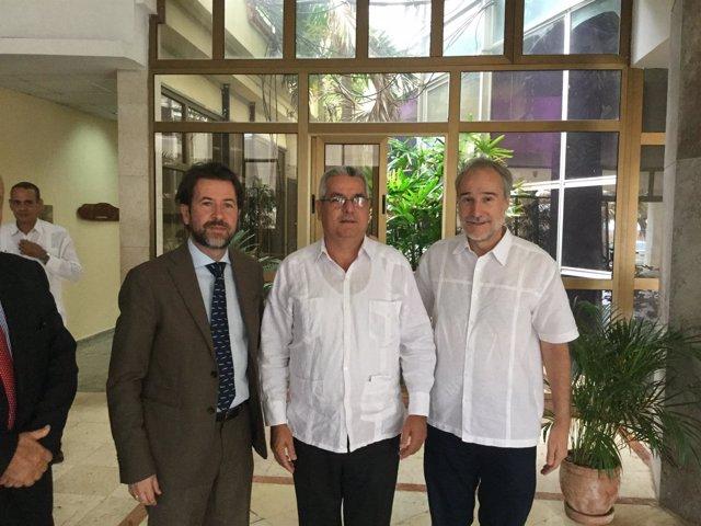 Carlos Alonso viaja a Cuba