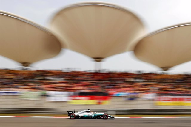 Lewis Hamilton Shanghái China Fórmula 1