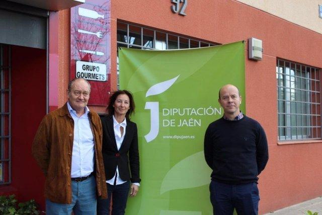Miembros del jurado del Premio Internacional de Cocina con Aceite de Oliva