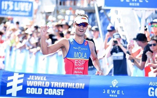 Mario Mola Gold Coast Series Mundiales triatlón