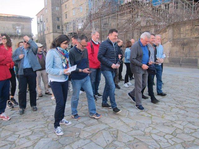 Instituciones de Santiago promueven una ruta a la Cidade da Cultura