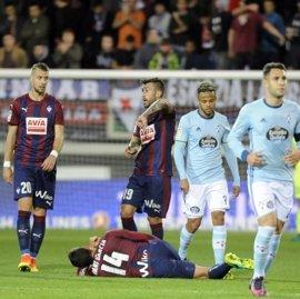 Celta y Eibar pugnan por acercarse a puestos europeos