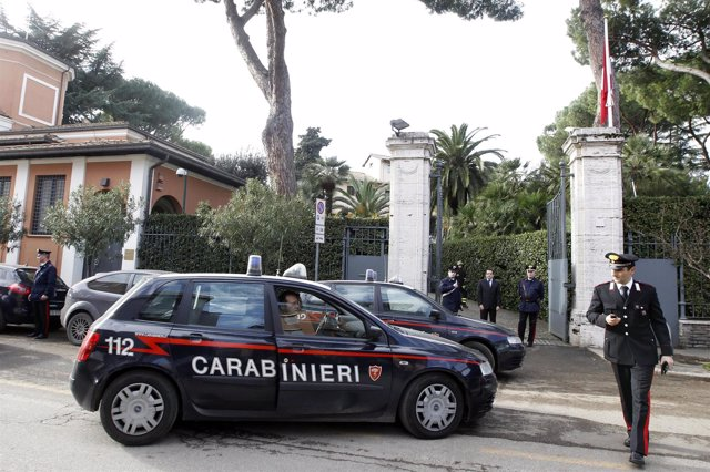 Policía italiana, Carabinieri en Italia