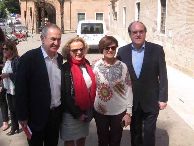 Rafael González Tovar, Ángel Gabilondo y Rosa Peñalver