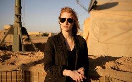 Jessica Chastain revela como Tom Cruise salvó Zero Dark Thirty