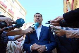 """Moreno defiende unos PGE """"útiles"""" frente a los """"malos"""" Presupuestos de la Junta"""