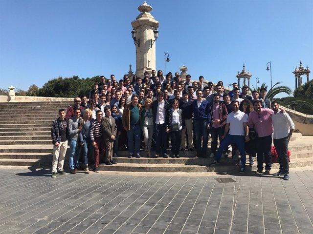 Los jóvenes 'populares' se han reunido en la sede del PPCV
