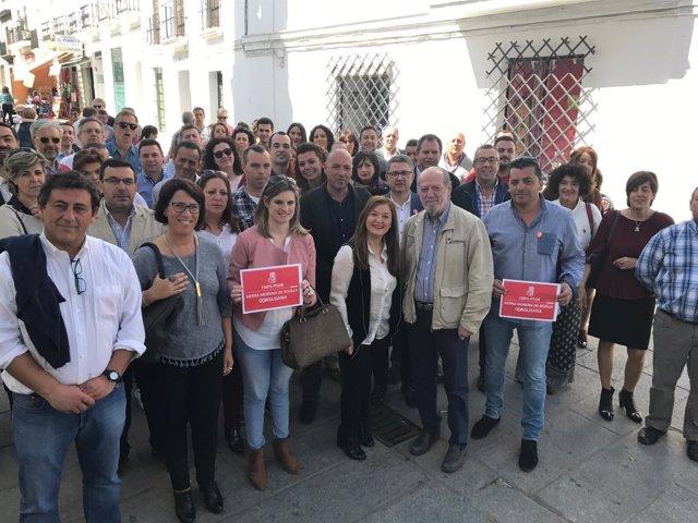 Presentación de plataforma de apoyo a Susana Díaz de la Sierra Norte de Sevilla