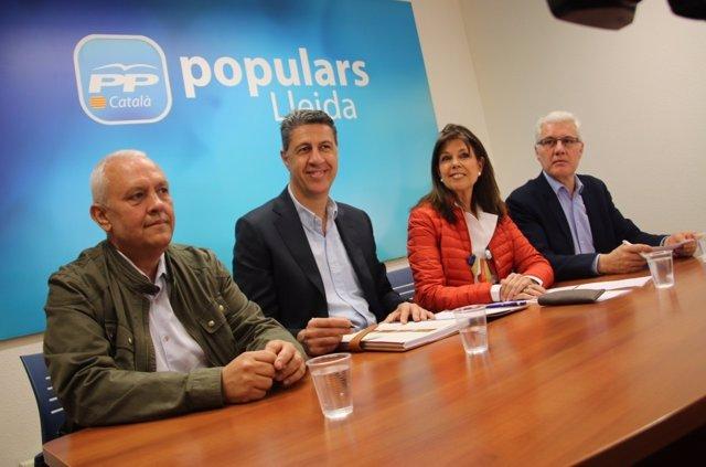 Xavier García Albiol y Santi Rodríguez (PP)