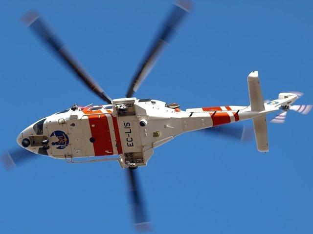 Helicóptero de Salvamento Marítimo (Manuel Estévez)