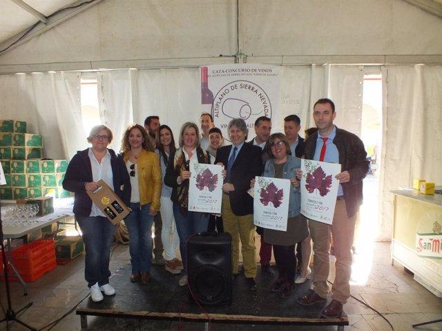 Inauguración de 'Primavera y Vino' en Guadix (Granada)