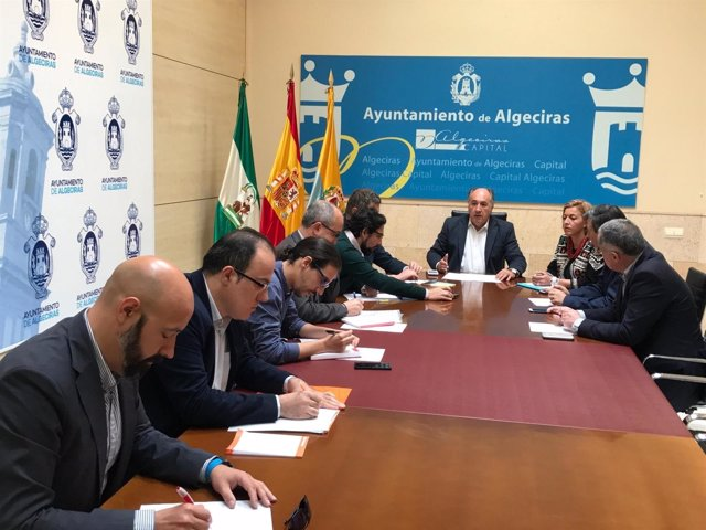 Reunión de la Junta de Portavoces del Ayuntamiento de Algeciras