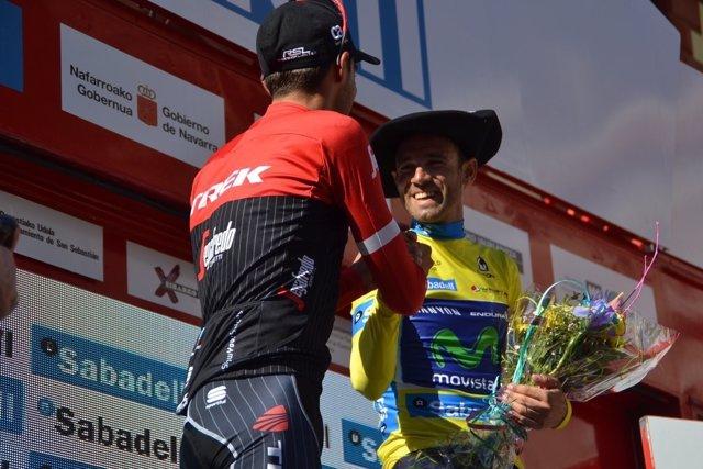 Alejandro Valverde Alberto Contador Vuelta País Vasco