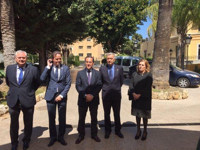 Reunión en Subdelegación por no indulto cofradía El Rico