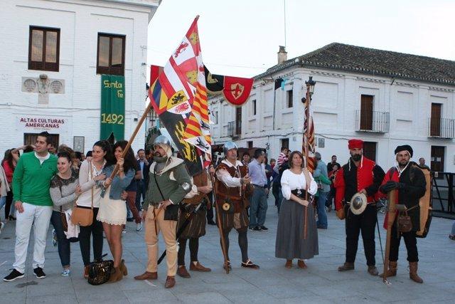 Programación medieval en Santa Fe (Granada)