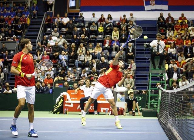 Serbia remata en el dobles y elimina a España de la Copa Davis