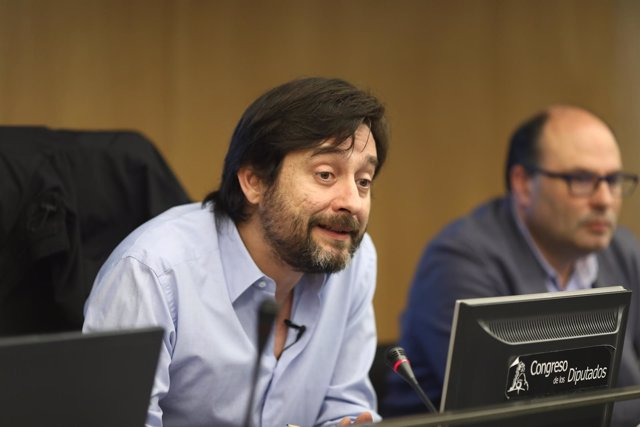 El secretario de Sociedad Civil y Movimiento Popular de Podemos, Rafael Mayoral
