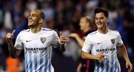 El Málaga de Míchel y Sandro se la lía al Barça