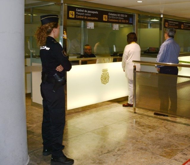 Las detenciones se han producido a la entrada y en el control de seguridad