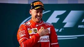 """Vettel: """"Mi objetivo era alcanzar a Hamilton pero sabía que iba a ser muy difícil"""""""