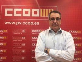 """León niega """"ruptura"""" en CCOO PV y achaca la falta de acuerdo a la """"rigidez"""" de la candidatura alternativa"""