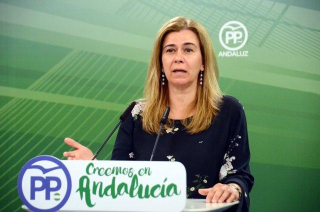 La diputada autonómica del PP-A Teresa Ruiz-Sillero