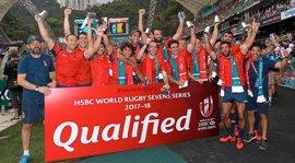 La selección española de rugby seven jugará las Series Mundiales tres años después