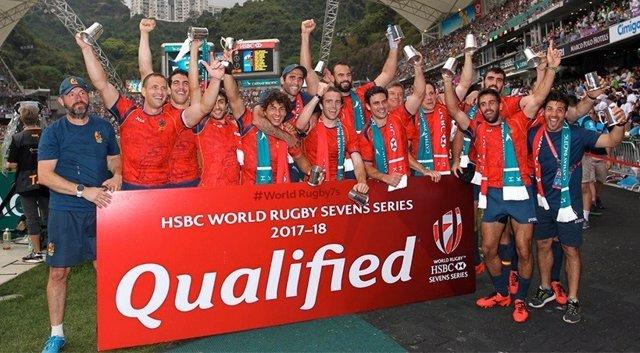 Rugby selección española masculina seven clasificación Series Mundiales