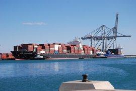 El tráfico de mercancías del puerto de València cae un 9,7% por el conflicto de la estiba