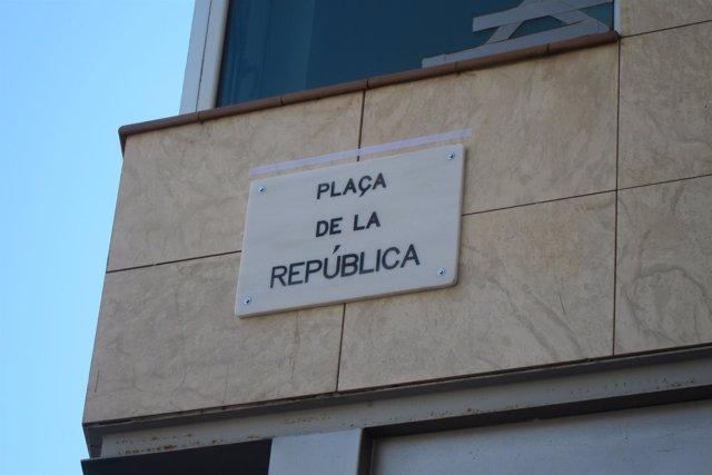 Plaza de la República de Barcelona, antes plaza Llucmajor