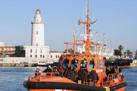 Rescatados en Málaga en tres meses 436 inmigrantes, más de la mitad de todo 2016